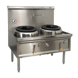 Double Burner gas oven