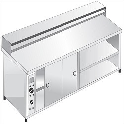 service-counter-with-hot-food-cabinet